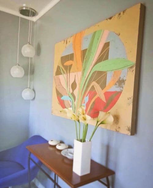 Paintings by Rick Hernandez seen at Private Residence, Las Pinas - Closed Terraria
