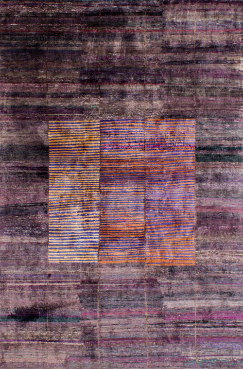 Rugs by WOVEN CONCEPTS seen at Sunset Park, Brooklyn - Lorca (Dusty Plum)