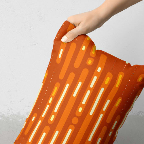 Pillows by Michael Grace & Co seen at Private Residence, San Francisco - Mid-Century Sunset