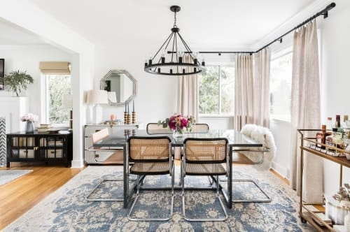 Interior Design by House of Séance seen at Private Residence, Seattle - Vintage Anatolian Rug