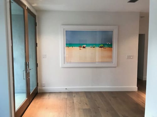 Art Curation by Artist Cheryl Maeder seen at Private Residence, Los Angeles - La Mer I, 1/10,  Fine Art Photograph, LA Collector's Residence