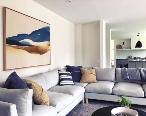Paintings by Lauren Mycroft Art seen at Private Residence, Victoria - Weightless