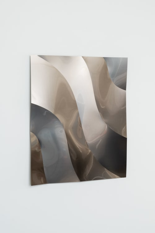 Art & Wall Decor by Phil Procter seen at Private Residence, London - Ripple Panel