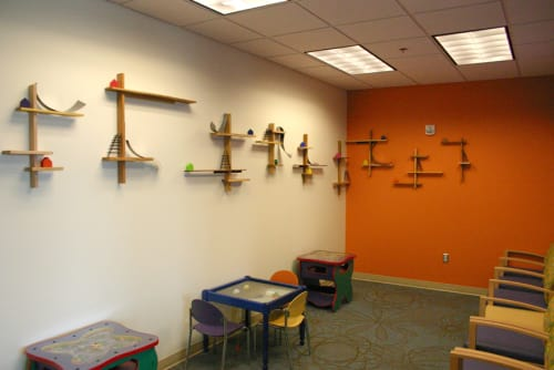 Sculptures by Craig Robb seen at Childrens Hospital Of Colorado, Colorado Springs - by and by