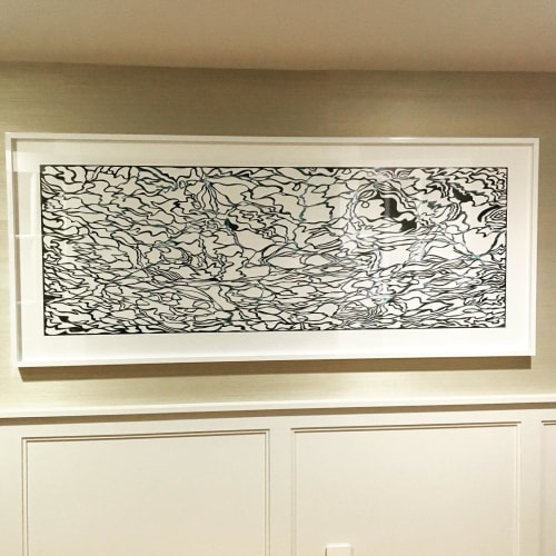 Art & Wall Decor by Marco Gallotta seen at Private Residence, New York - sea II