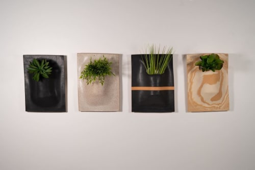Vases & Vessels by Luke Shalan seen at Austin Proper Hotel, Austin - Hanging Slab-Dropped Planter