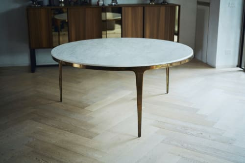 Tables by Barbera seen at Private Residence, Melbourne - Bronze Table