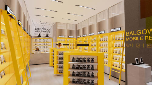Interior Design by Studio Hiyaku seen at Stockland Balgowlah, Balgowlah - Mobile Repair