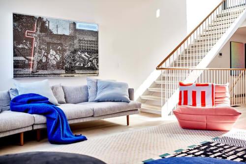 "Paintings by Tom Adair seen at Private Residence, Richmond - ""Gwynne Street"""