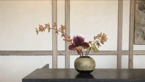 Floral Arrangements by Serracinna seen at Austin Proper Hotel, Austin - Orchid arrangement