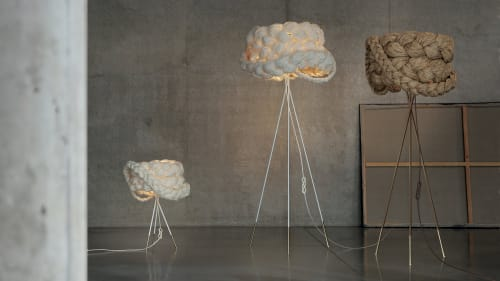 Tables by Marie Burgos Design seen at New York, New York - THE BRIDE TABLE LAMP LIGHT