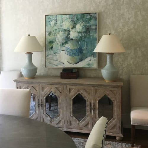 Paintings by Gina Brown seen at Private Residence, Charlotte - Together