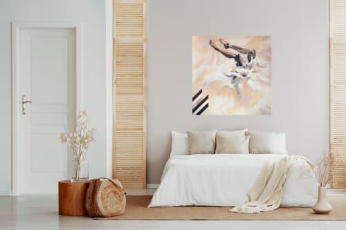 Paintings by Hannah Adamaszek seen at Creator's Studio, Granada - Seashell