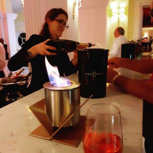 Lighting by GlammFire seen at The Yeatman Hotel, Vila Nova de Gaia - Kivo Tabletop