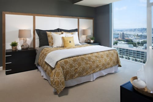 Beds & Accessories by Christopher Original seen at Private Residence, San Diego - Headboard