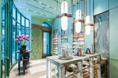 Pendants by Ron Dier Design at Compartes Chocolates Los Angeles Flagship Boutique at Century City, Los Angeles - Pendant Light Fixture