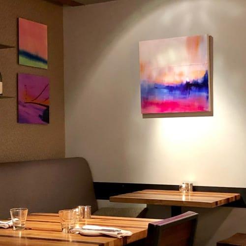 Paintings by Marine Gueguen Strage@ seen at The Lodge At Tiburon, Tiburon - Painting