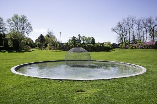 Public Sculptures by John Ruppert seen at Ladew Topiary Gardens, Monkton - John H Ruppert