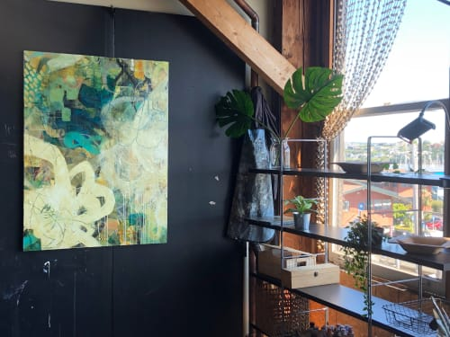 Paintings by Paula Valenzuela Art seen at Room Art Gallery, Mill Valley - Coincidencias