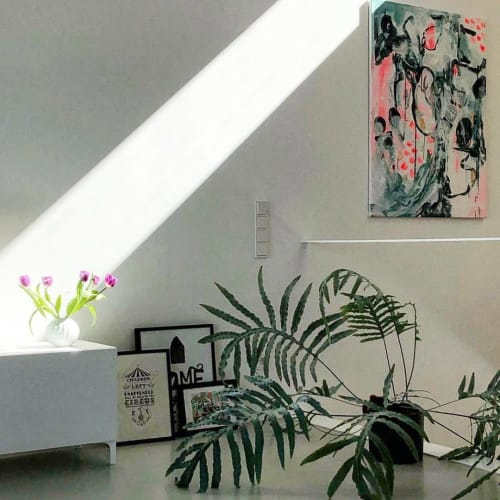 Paintings by Paige Ring seen at Private Residence, Saarbrücken - Summer's End