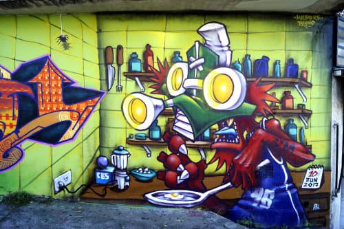 Binho Ribeiro - Street Murals and Public Art