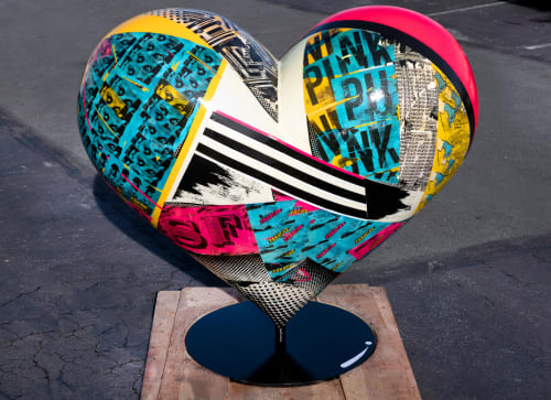 Public Sculptures by ANTLRE - Hannah Sitzer seen at San Francisco, San Francisco - I Heart Annie