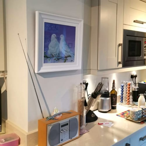 Paintings by Carolina Arbuthnot seen at Private Residence, Solihull - I do