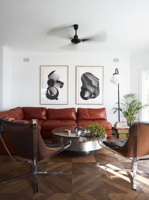 Art Curation by Kate Banazi seen at Private Residence, North Bondi - Silkscreen Prints, Bondi Apartment