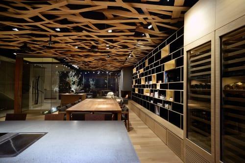 Architecture by GRANESE ARCHITECTURE&DESIGN seen at Finagricola Coop. A R.l., Battipaglia - Sala del Gusto