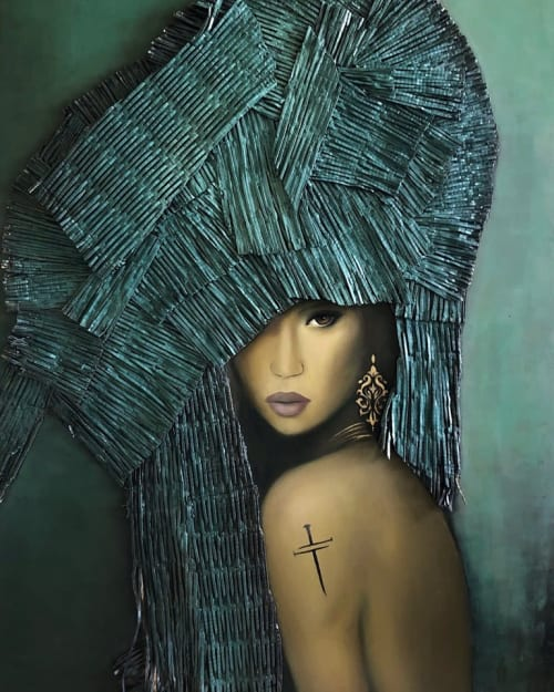 Lark Calderon-Gomez - Paintings and Art
