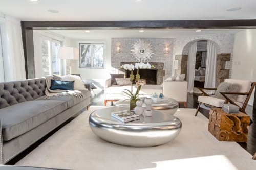 Interior Design by Marie Burgos Design seen at New Rochelle Residence, New Rochelle - New Rochelle Residence