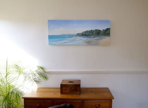 Paintings by Sandra Francis seen at Private Residence, Seaview - Seagrove Bay
