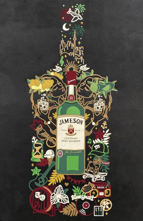 Street Murals by Leslie Phelan Mural Art + Design seen at Northwood, Toronto - Bloorcourt loves Jameson