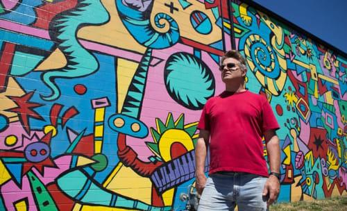 Tom Cramer - Murals and Street Murals