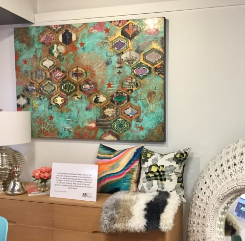 Art & Wall Decor by Jill Ricci seen at Red Bank Design Center, Red Bank - The Lives I'm Not Living
