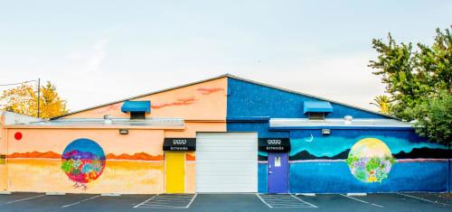 Street Murals by Frances Marin Lopez seen at San Jose, San Jose - Mural
