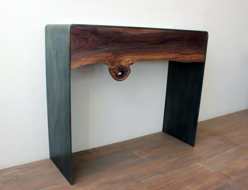 Tables by Andre Joyau seen at Private Residence, Brooklyn, NY, Brooklyn - Irigushi Console