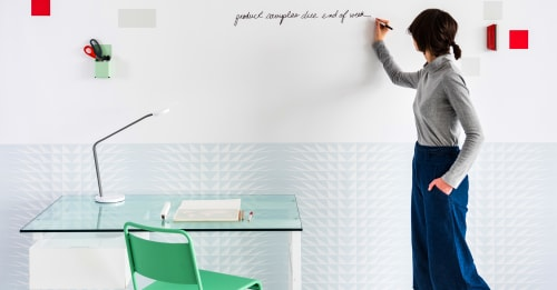Wallpaper by Jill Malek Wallpaper seen at Workspace NY, New York - FORCES Magnetic Wallcoverings for Workspaces