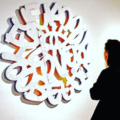 Art & Wall Decor by Ashwan seen at BienCuadrado Art Gallery, Barcelona - Eye Know