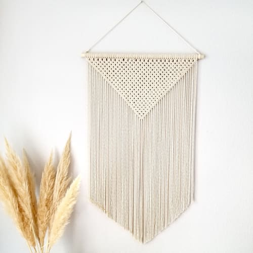Macrame Wall Hanging by YASHI DESIGNS seen at Private Residence, Quinter - Apex