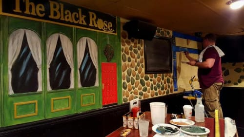 Murals by Murals seen at Levittown, Levittown - Murals
