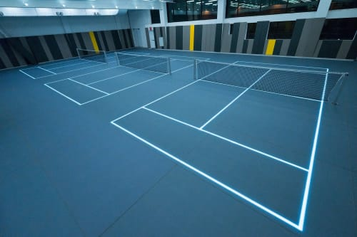 Architecture by ASB GlassFloor seen at 13-06 Queens Plaza S, Queens - Court 16 LIC