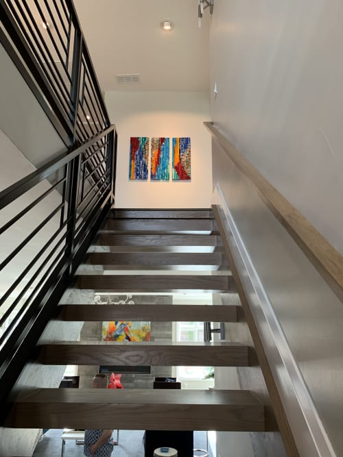 Wall Hangings by Natalie Ventimiglia seen at Boulevard One Residences, Denver - High Vibes From Source
