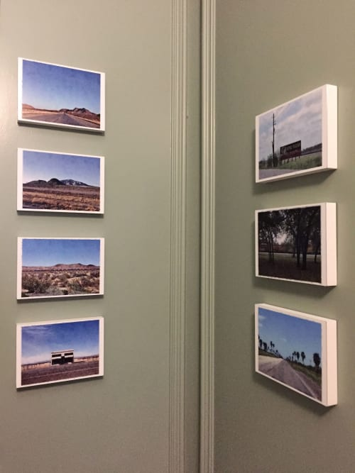 Photography by Anne M Bray seen at Hotel ICON, Houston - Western Hills, Texas