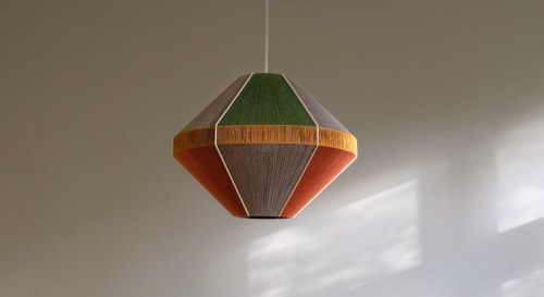 Pendants by Werajane Design seen at Private Residence, Munich - Ruby