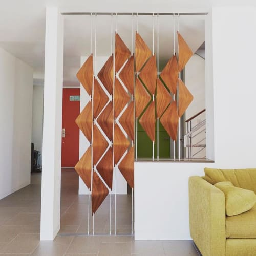 Art & Wall Decor by Elish Warlop Design Studio seen at Private Residence, San Diego - Walnut Shades