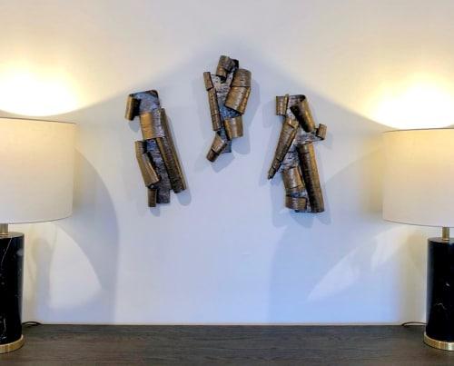 Art & Wall Decor by Lenore Rae Lampi at Minneapolis, Minneapolis - Scrolls in Bronze