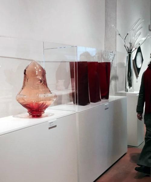 Sculptures by Andrea Morucchio seen at Museum of Glass, Venezia - Celata