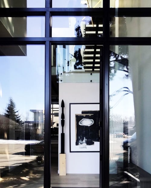 Sculptures by Neshka Krusche seen at Private Residence, Calgary - Untitled