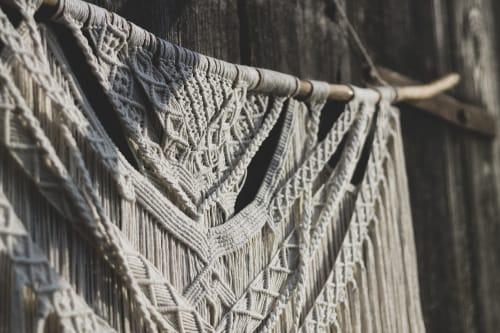 Sploty_makrama - Macrame Wall Hanging and Pillows